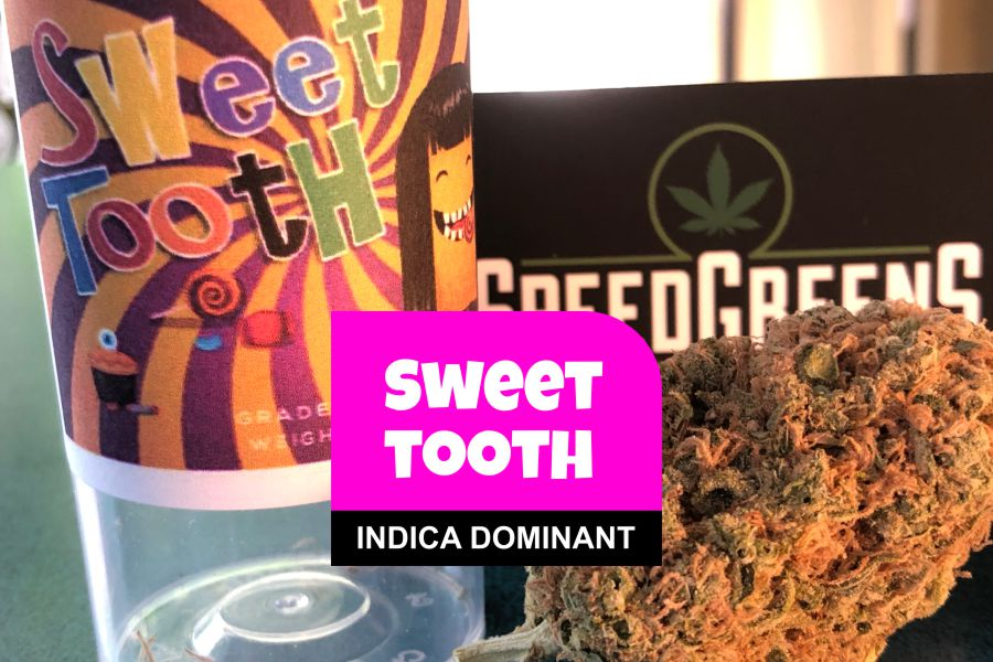 Sweet Tooth Cannabis Strain Review with Ratings & Information