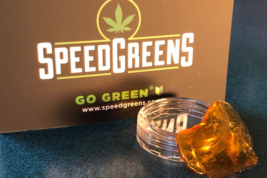 Speed Greens Shatter Review