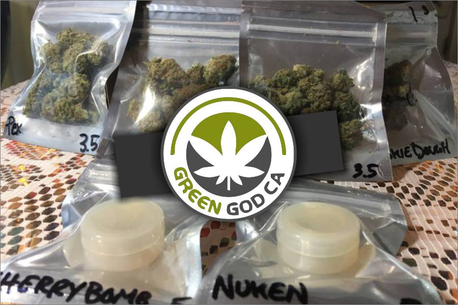 GreenGod.ca Review and Unboxing with Cannabis and Shatter Reviews