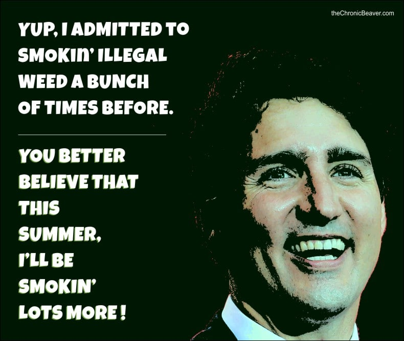 There is Nothing Wrong with a Prime Minister who Likes to Smoke Weed