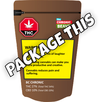 "Canada cannabis ""Package This"""