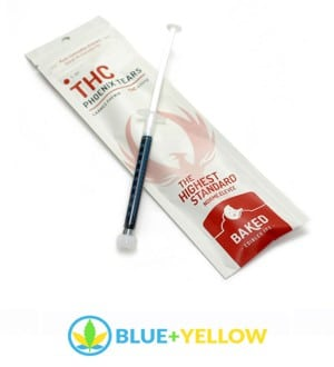 Blue+Yellow Phoenix Tears THC Oil