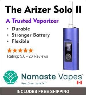 arizer-solo-2-online-vaporizer-namaste-vapes-canada