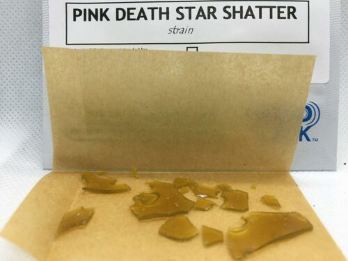 Evergreen-Medicinal-Shatter-Review-Pink-Death-Star