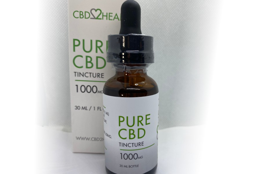 Pure CBD Tincture – CBD2Heal Review