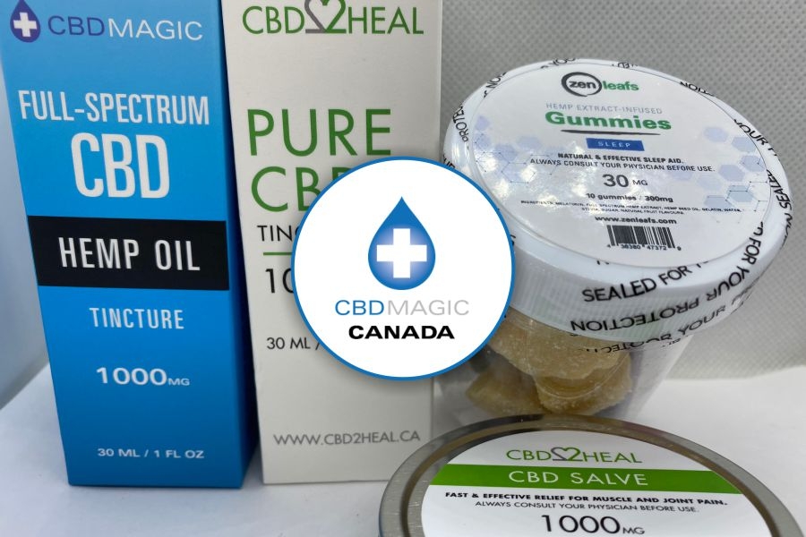 CBD Magic Canada Review, Brands, Unboxing